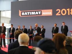 Леонид Ставицкий принял участие в открытии международной выставки BATIMAT RUSSIA-2018