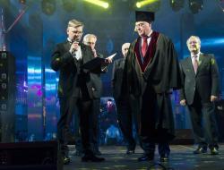 Леонид Ставицкий стал Почётным доктором МГСУ