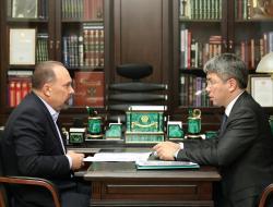 Михаил Мень и Алексей Цыденов обсудили ход реализации программ Минстроя России в Республике Бурятия