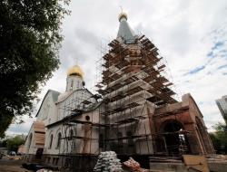 Владимир Ресин: Храм Дмитрия Солунского в Хорошеве будет сдан ко Дню города