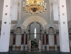 Владимир Ресин: Храм Федора Ушакова в Бутово будет сдан в эксплуатацию в конце ноября 2017 года