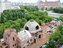 Владимир Ресин: В октябре на храм Дмитрия Солунского установят главный купол