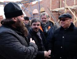 Владимир Ресин: В районе, где проживает без малого 100 тысяч человек, появится первый храм