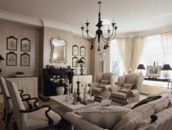 Классический французский стиль в интерьере гостиной