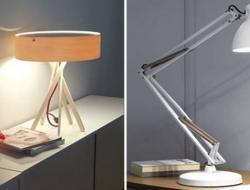Дополнительный свет с помощью настольных ламп