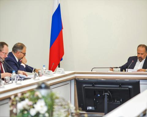 Игорь Манылов предложил расширить круг полномочий Главгосэкспертизы России, Михаил Мень поддержал