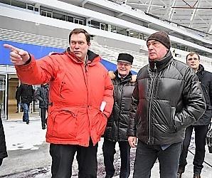 Леонид Ставицкий: Получено положительное заключение на опорные конструкции стадиона «Самара Арена»