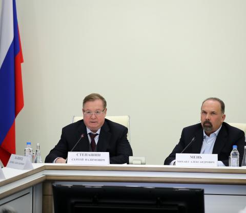 Сергей Степашин: В приоритете – обеспечение строительной отрасли и сферы ЖКХ профессиональными кадрами
