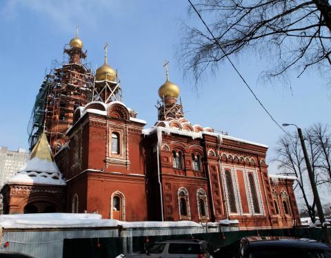 Владимир Ресин: На восстановление храма Живоначальной Троицы собрано около 80-ти миллионов рублей