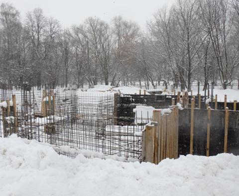 Владимир Ресин: Началось строительство уникального храма в честь Крестителя Руси