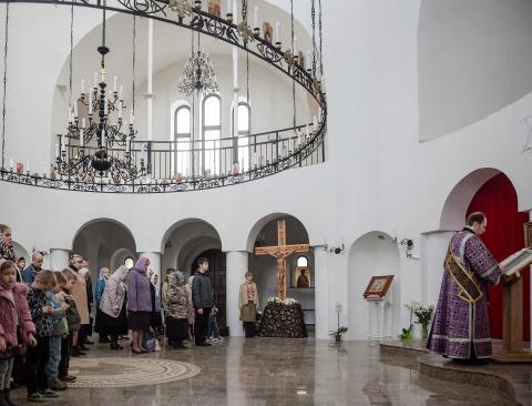 Владимир Ресин: Первый программный храм в Некрасовке готовится к освящению