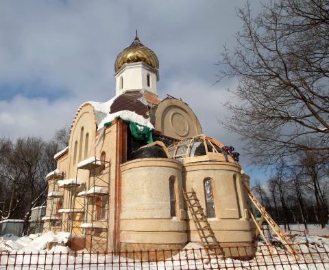 Владимир Ресин: Строительство храмового комплекса в честь святителя Димитрия будет завершено осенью этого года