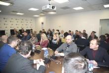 Для специалистов СРО по ЦФО ностроевцы проводили семинар, обсуждали проблемы, отвечали на вопросы, но что конкретно – всем не говорят