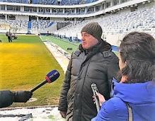 Леонид Ставицкий: «Стадион Калининград» – в лидерах по подготовке к Чемпионату мира по футболу в этом году