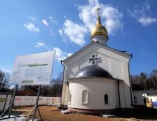 Владимир Ресин: Храмовый комплекс Казанской Божией Матери на Западе Москвы будет сдан в октябре этого года