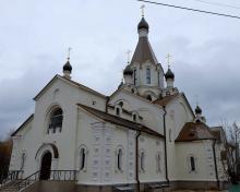 Владимир Ресин: Завершены работы на храме в честь иконы Божией Матери Неопалимая Купина
