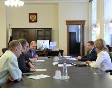 Владимир Якушев встретился с представителями Общественной палаты РФ