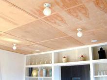 Чем отделать пол и потолок