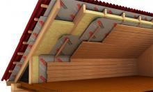 Утепление крыши кирпичного дома