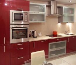 Варианты расстановки кухонной мебели